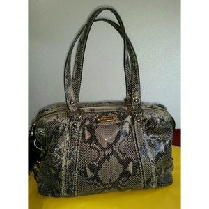 Michael Kors Python Satchel Handbag